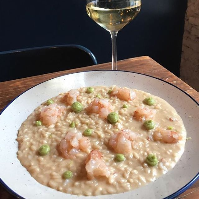Risotto con tartare di gamberi lime e avocado for Best risotto in milan